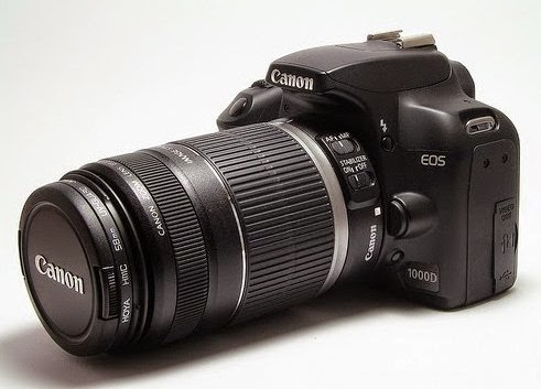Spesifikasi CANON EOS 1000D dan Harga Terbaru
