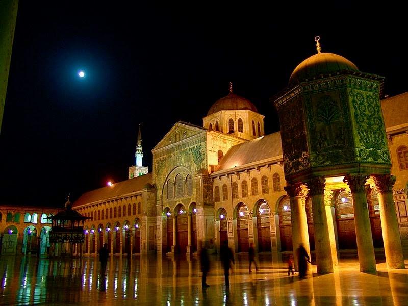 المسجد الجامع الأموي (بحث كامل)