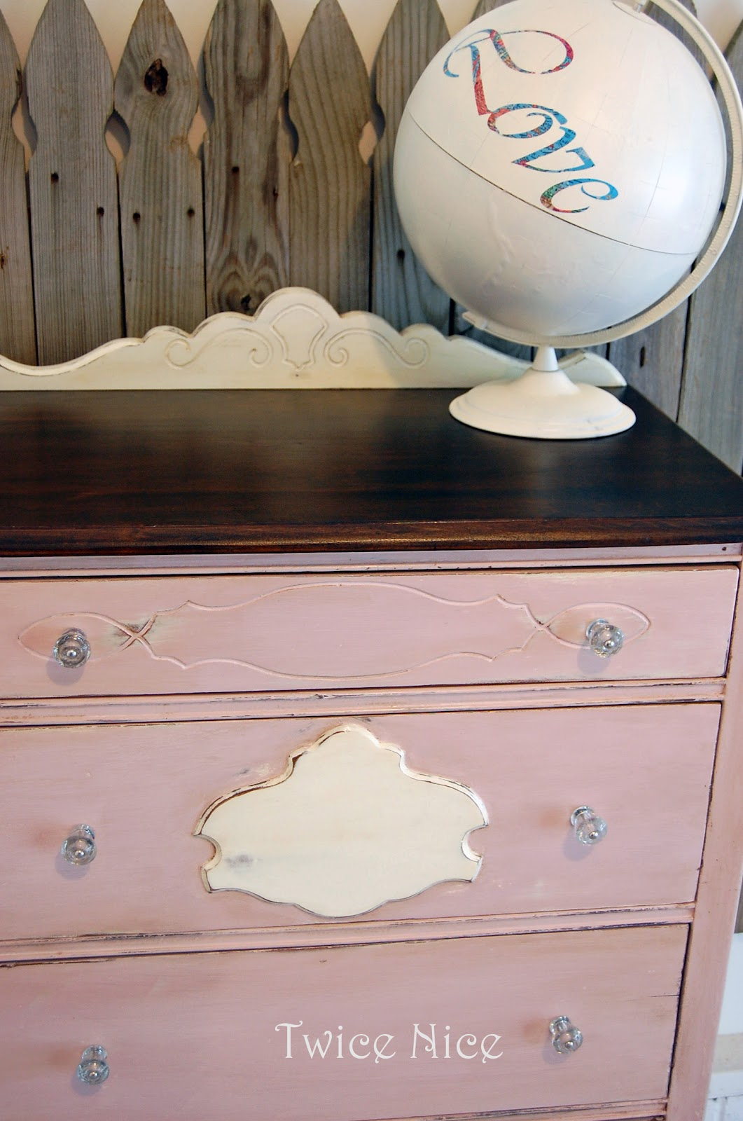 Twice Nice: Sweet Pink Dresser