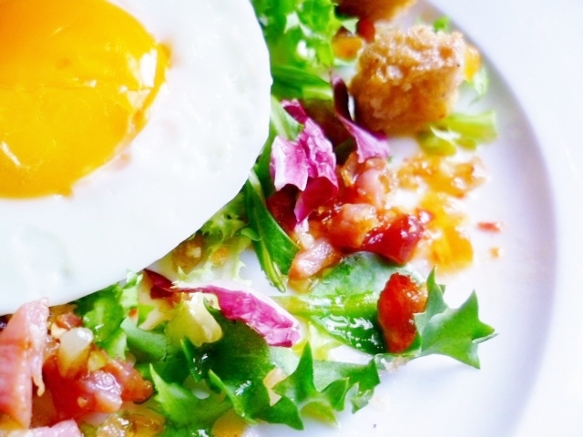 Marmaduke Scarlet: lost in france: my salade lyonnaise