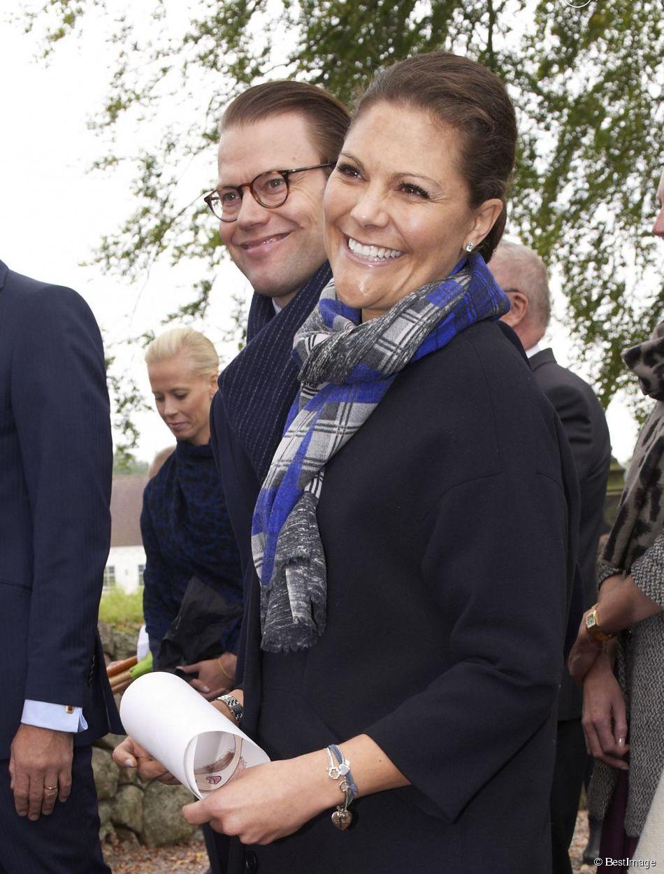 Aujourd'hui, La Princesse Victoria et le książę Daniel ont VISITE Ostra Goinge, dans le Comte de Skania