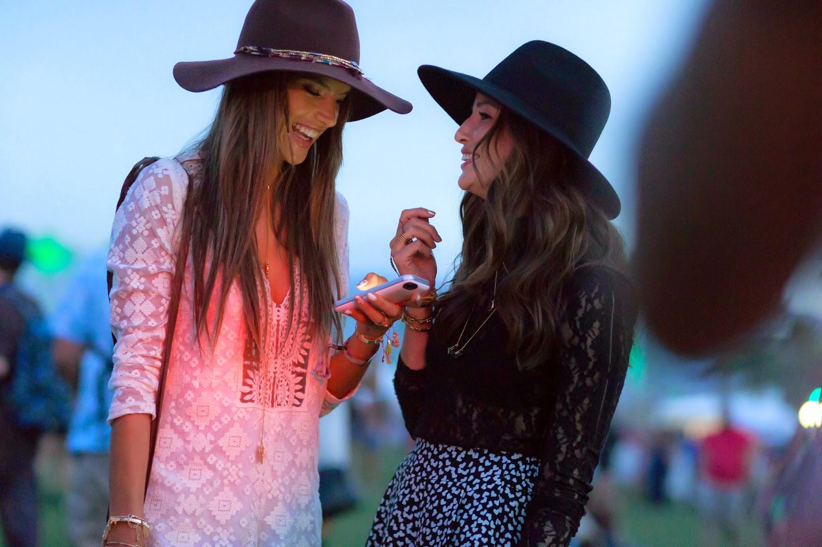 Eniwhere Fashion - Coachella Style - Alessandra Ambrosio
