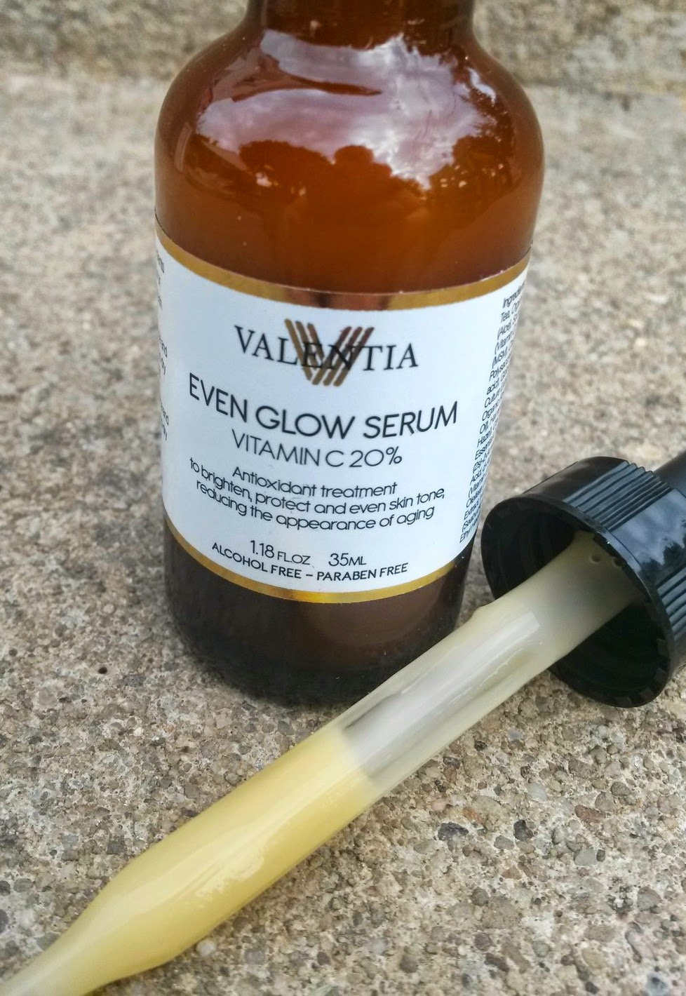 smith and blessings  valentia even glow serum