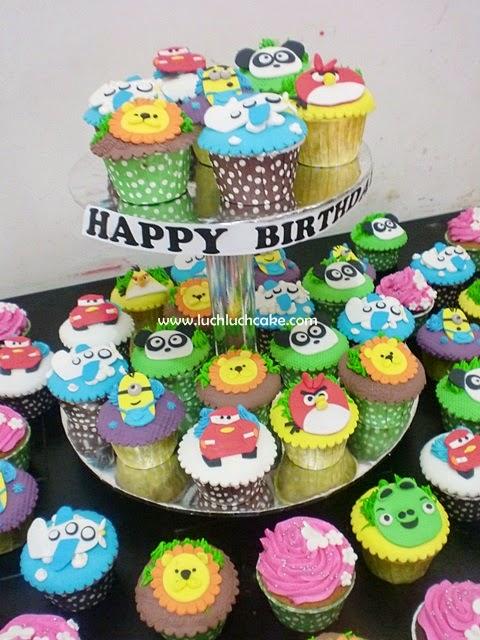 cupcake ulang tahun anak