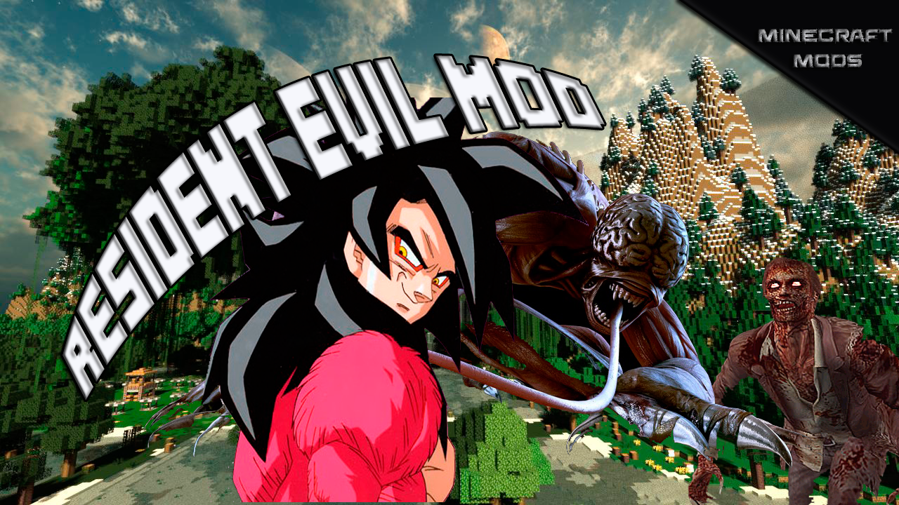 Resident Evil Mod Para Minecraft 1.7.2