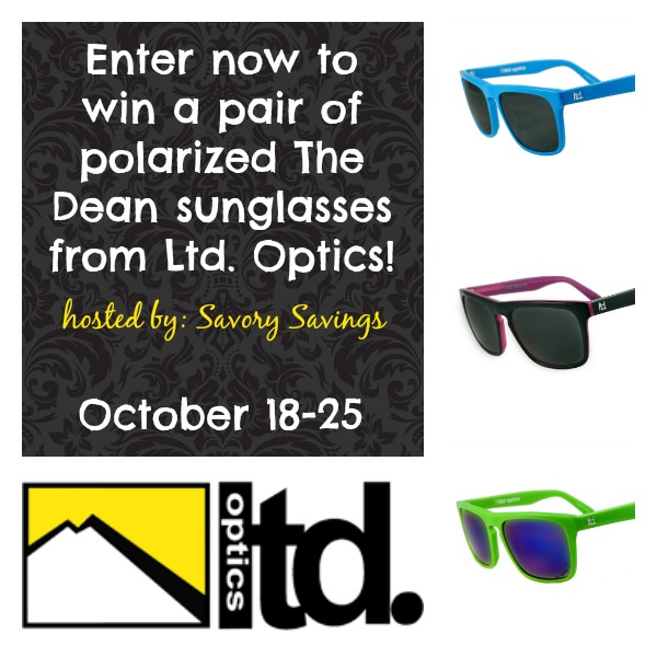 Dean Polarized Sunglasses Giveaway!