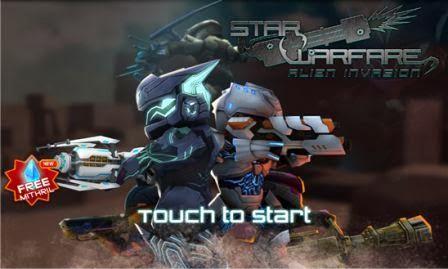 Star Warfare: Alien Invasion, games perang melawan alien