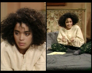 Cosby Show Huxtable fashion blog 80s sitcom Denise Lisa Bonet