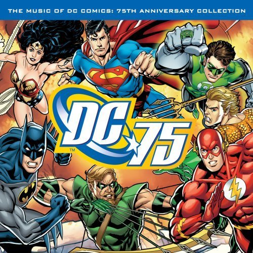 The Music of DC Comics: 75th Anniversary Collection, album cover