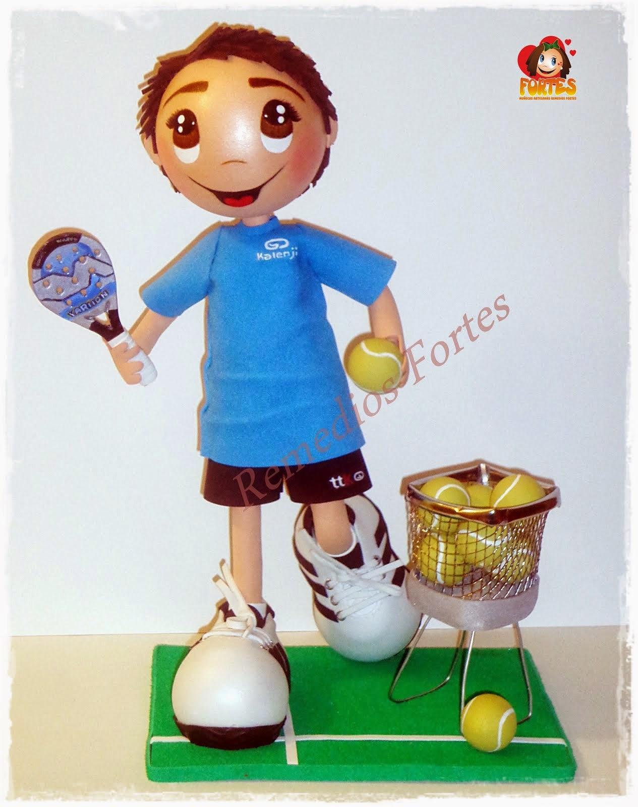 Jose Luis, jugador de padel