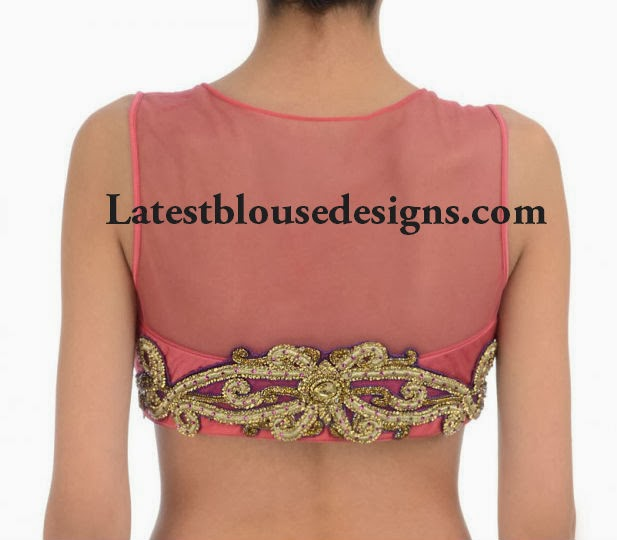 latest net blouse deisgns