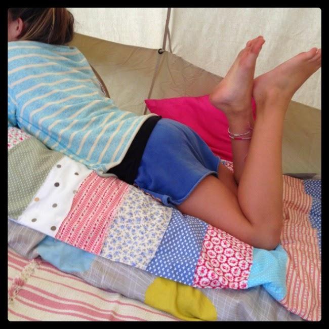 Lightweight rag quilt