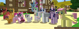 Mine Little Pony: Friendship is Crafting Mod para Minecraft 1.7.10