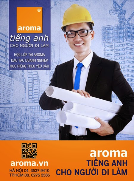 Gia sư tiếng Anh cho người đi làm tại Aroma