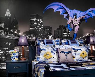 Habitaci n tema superh roes dormitorios con estilo for Dormitorio super heroes