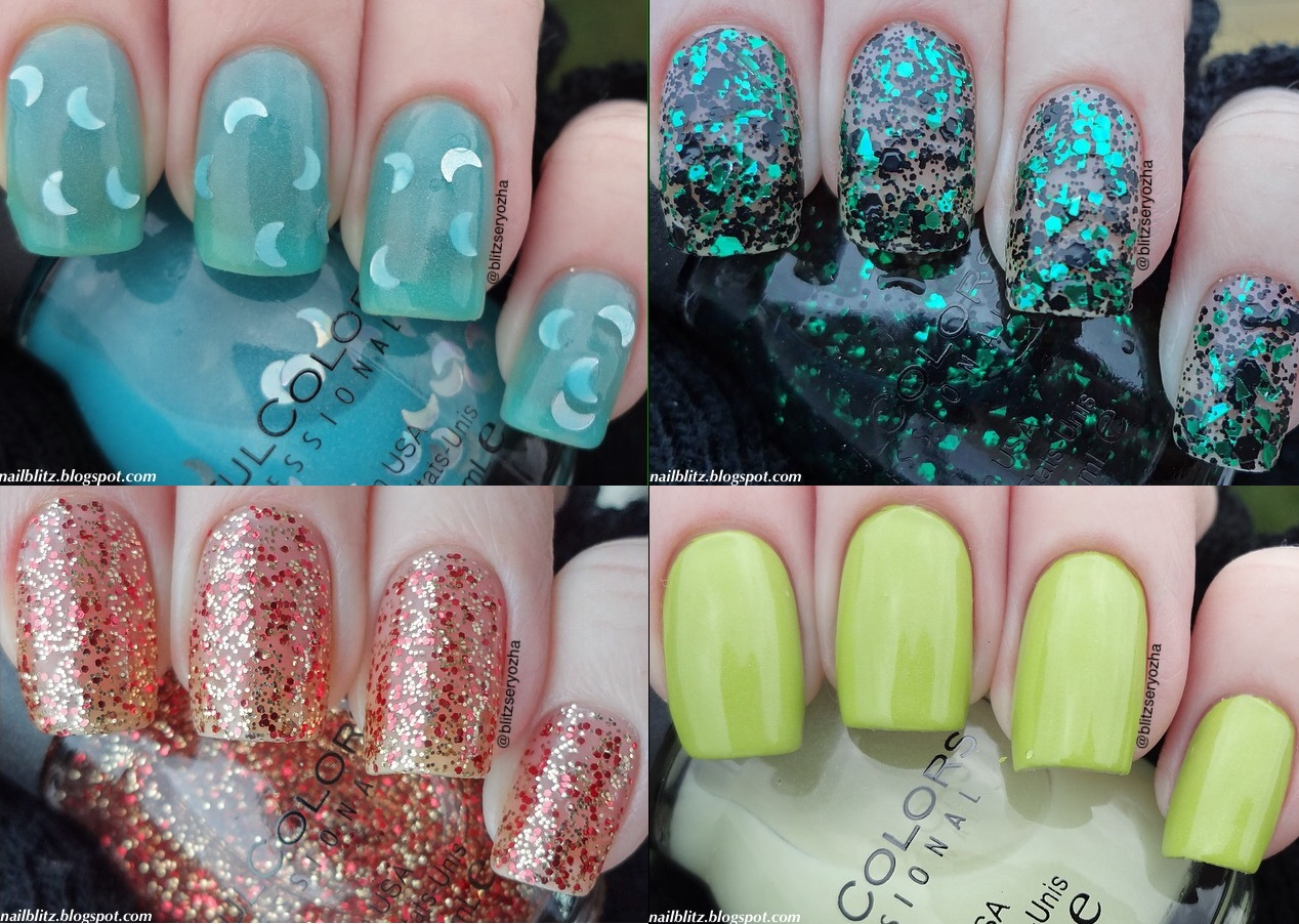 Nail Blitz: Sinful Colors Halloween Swatches