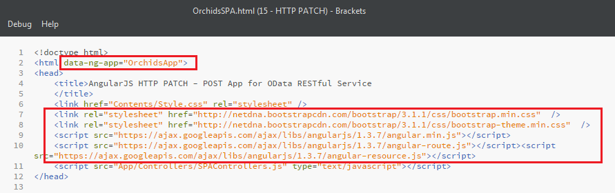 How to Design an AngularJS SPA with CRUD operations for OData RESTful Web API       1
