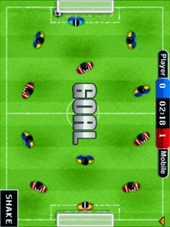 Table soccer For Mobile Phone Java Games Free Download