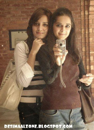 Girlfriends In University Taking Pics