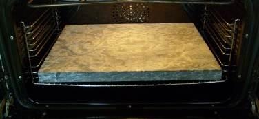 Pizzasten marmor