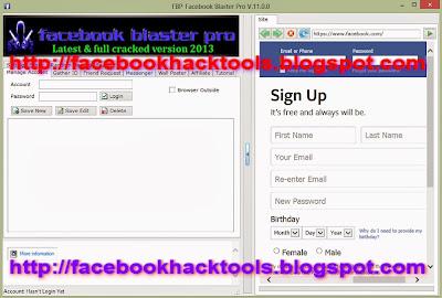 FaceBook Blaster Pro 2013