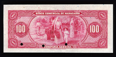 Venezuela old currency paper money