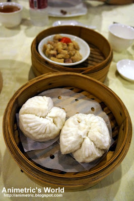 Steamed Barbecued Pork Buns at Passion Restaurant in Maxims Hotel, Resorts World Manila