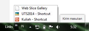 Tutorial membuat pintasan (link) cepat untuk membuka folder penting