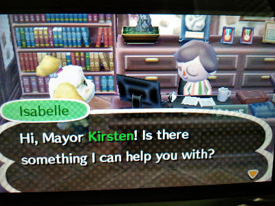 Animal Crossing New Leaf Mayor