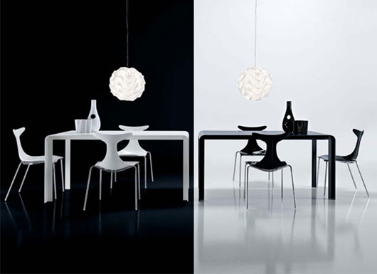 Home exterior designs mesa moderna para comedor para - Mesas de comedor para espacios pequenos ...