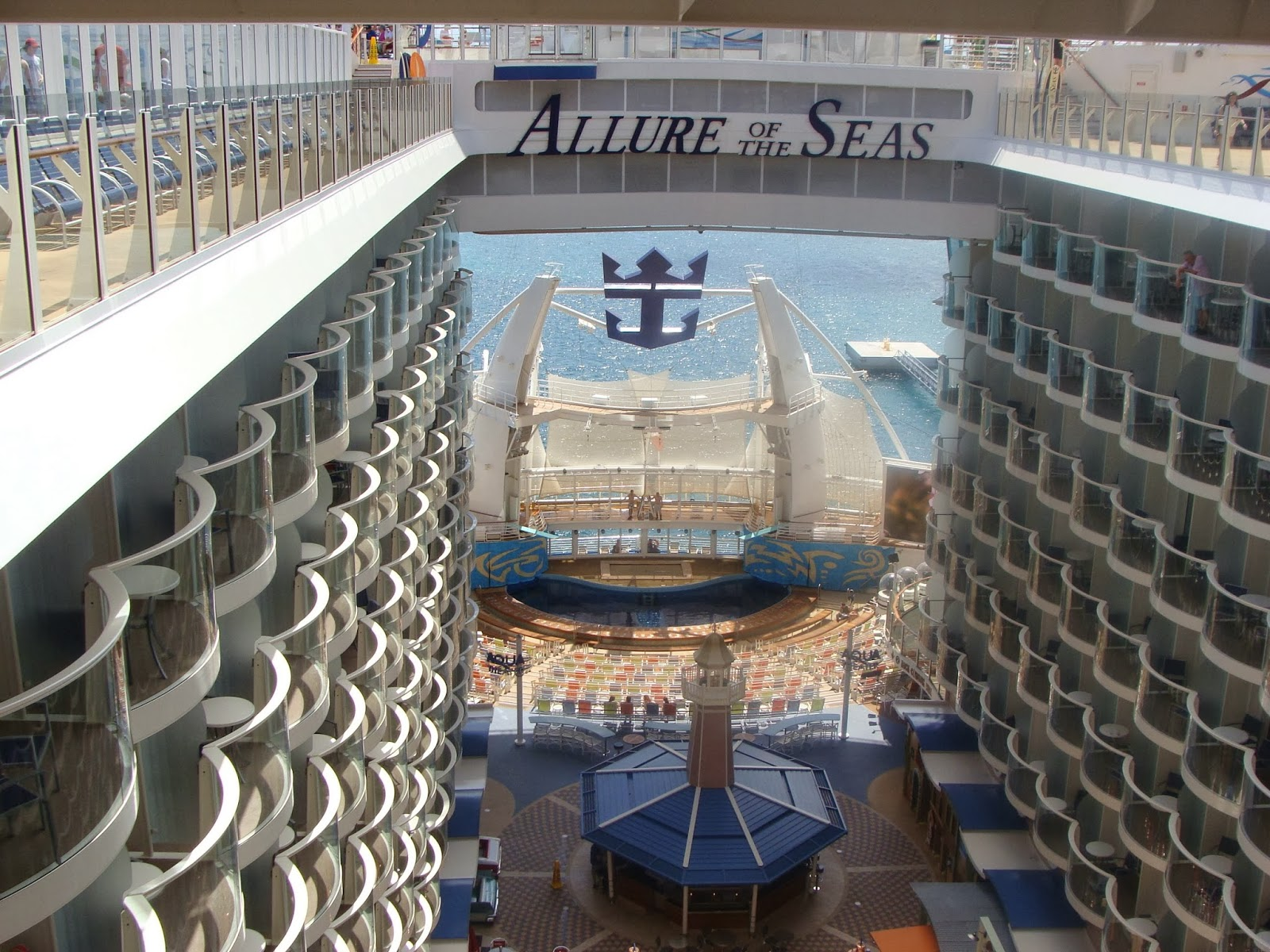 Vista del Allure of the Seas
