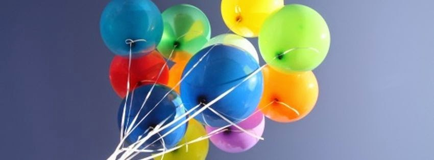 Couverture facebook ballon