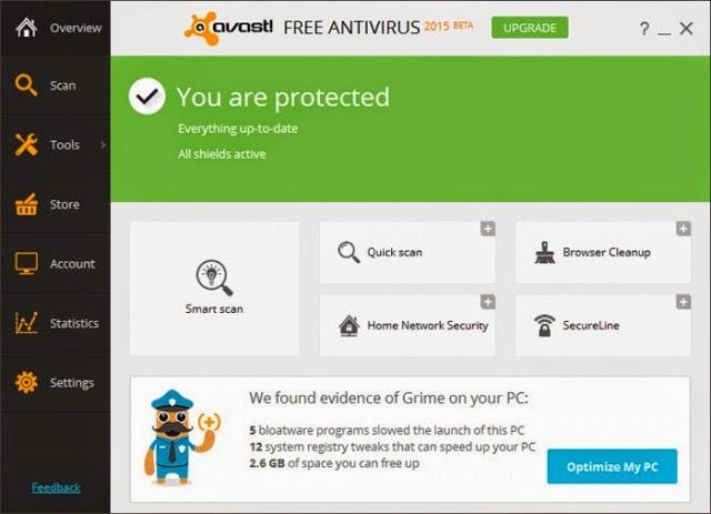 avast 2015 antivirus gratis