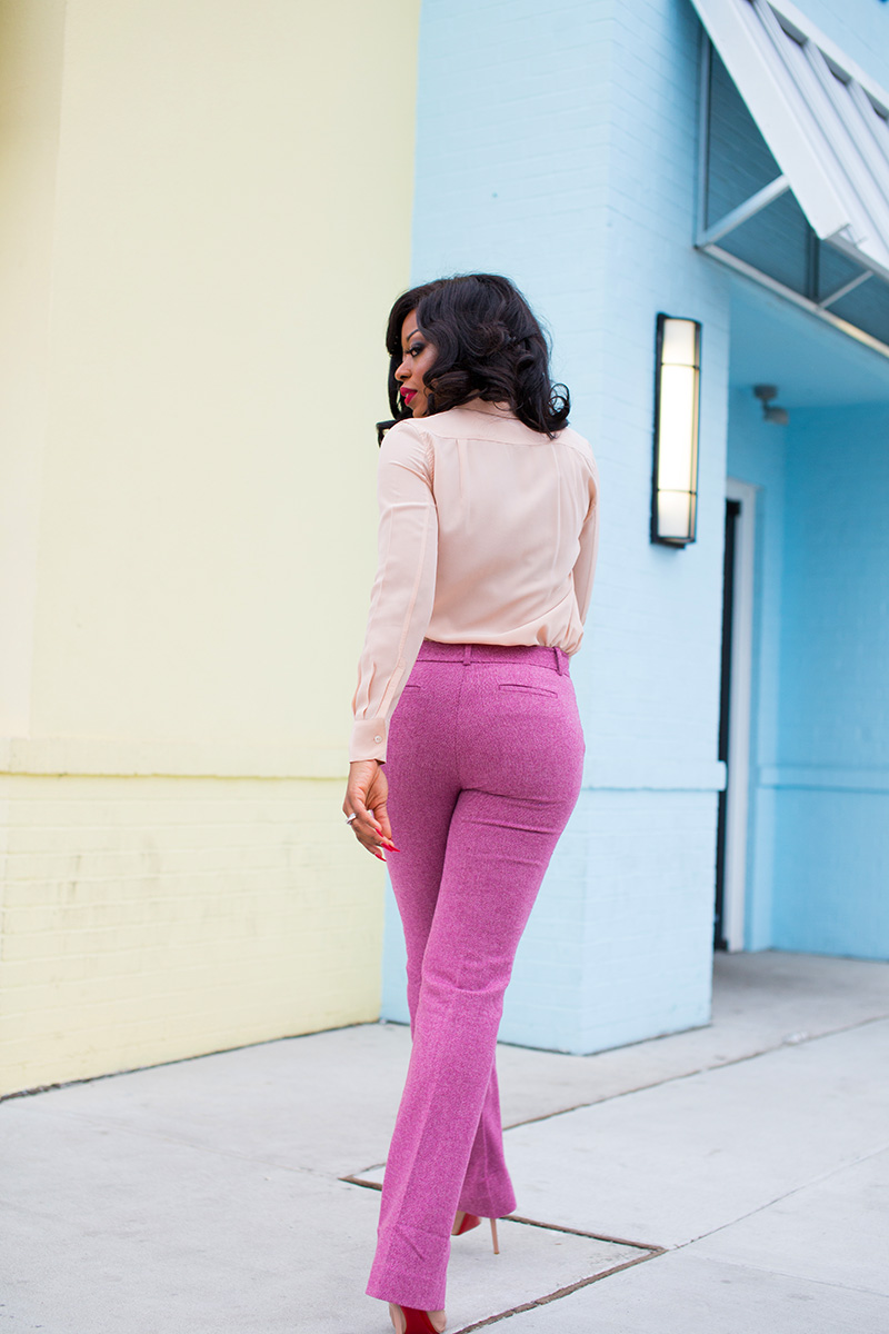 Jcrew pink pants, pastel colors, www.jadore-fashion.com