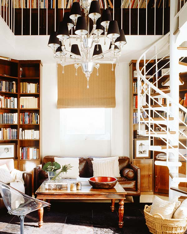 Escaleras para espacios peque os cocinas modernas for Escaleras para lugares pequenos