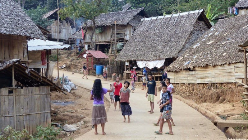 Mae La Flüchtlingslager Thailand