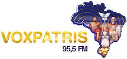 ACESSE A VOXPATRIS 95,5 FM A MELHOR FM DA MUSICA CATÓLICA