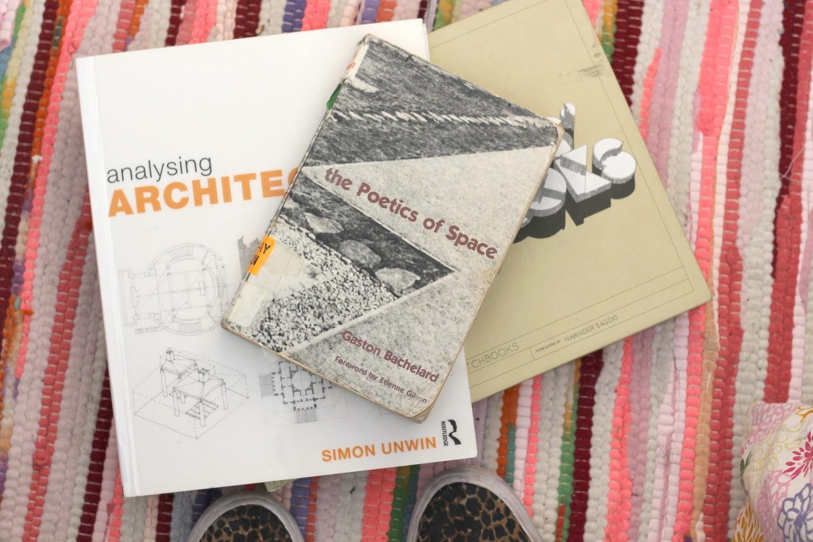architecture books students masters undergraduate postgrad