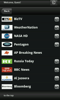 Android TV App - News Channels
