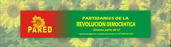 La Pared Democratica - Partidari@s de la Revolución Democratica