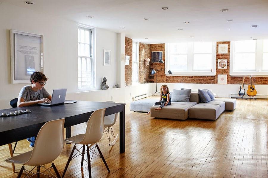 Mes caprices belges decoraci n interiorismo y - Muebles con ladrillos ...