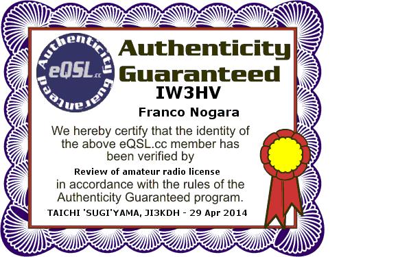 E-QSL Regular Member
