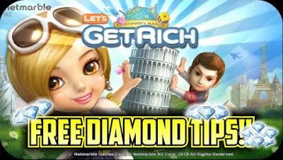 Diamond Line Lets Get Rich