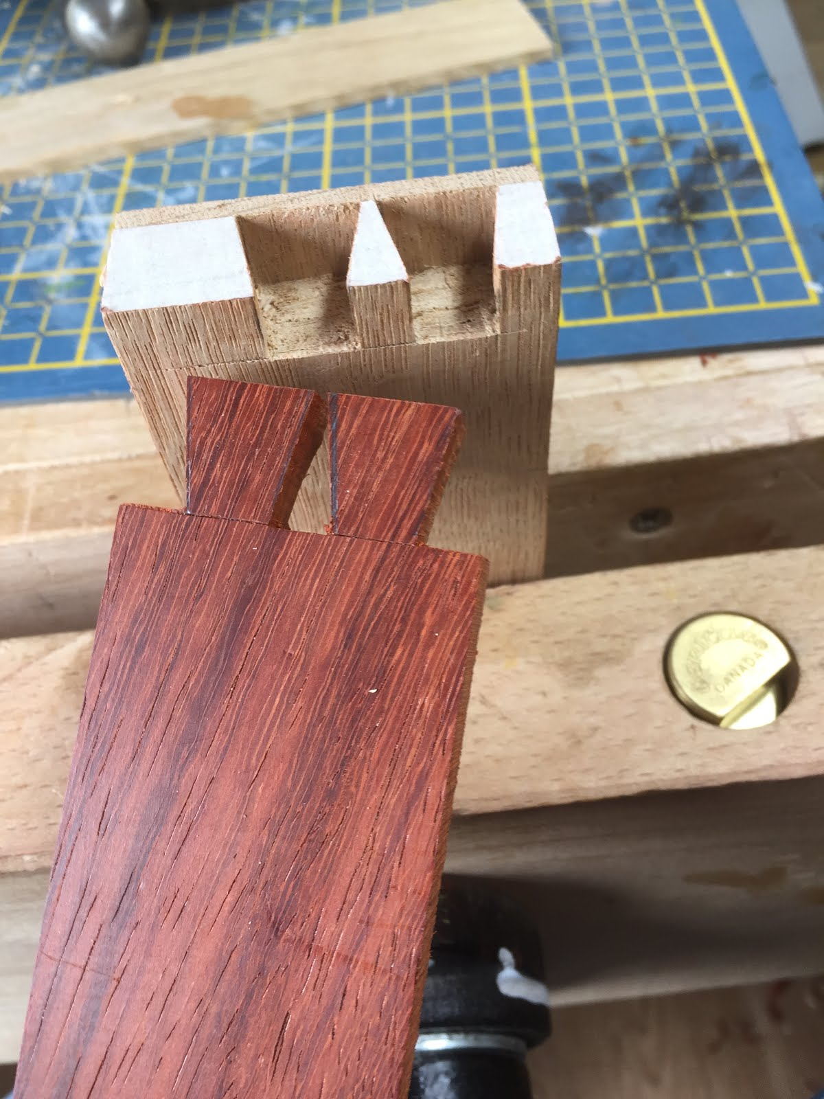 Half Blind Dovetail