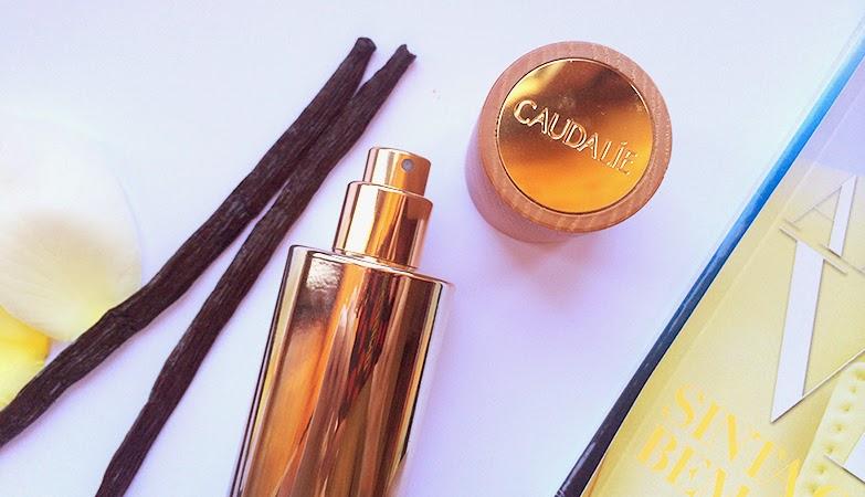 parfum divin caudalie perfume divino divine parfum vanilla ambar sweet notes scent summer