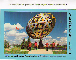 Vegreville Chamber of Commerce postcard