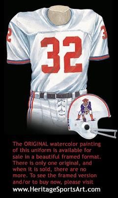 Boston Patriots 1969 uniform - New England Patriots 1969 uniform