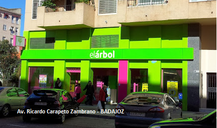 El Árbol, El Árbol en Badajoz