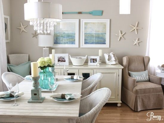 How About Creating A One Of A Kind Idea With Just A Part Of The Paddle?  Such A Fun Idea At Coastal Living Magazine In Their 2011 Ultimate Beach  House Tour ...