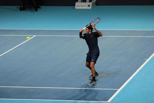Roger Federer Swiss Indoors Basel
